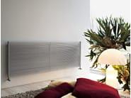 Horizontal wall-mounted stainless steel decorative radiator IXSTEEL | Horizontal decorative radiator - Tubes Radiatori