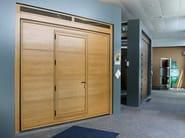 Up-and-over garage door SWING - Breda Sistemi Industriali