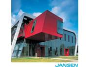 Steel thermal break window JANSEN VISS - Jansen