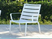 Garden armchair with armrests LOUNGE | Garden armchair - FIAM