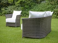 3 seater resin garden sofa WEZEN | Garden sofa - Samuele Mazza Outdoor Collection by DFN