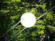 Opal glass pendant lamp TENSESTERNI SFERA OPALESCENTE - Cini&Nils