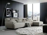 Direct-indirect light floor lamp COMPONI200 MEZZACURVA - Cini&Nils
