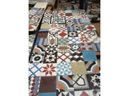 Indoor/outdoor cement wall/floor tiles ODYSSEAS 235 - TsourlakisTiles