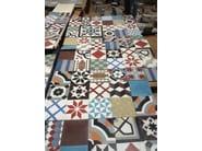 Indoor/outdoor cement wall/floor tiles ODYSSEAS 243 - TsourlakisTiles