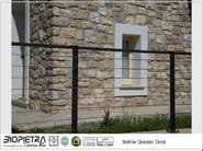 Ecological frost proof outdoor wall tiles STELVIO - BIOPIETRA®