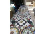 Indoor/outdoor cement wall/floor tiles ODYSSEAS 315 - TsourlakisTiles