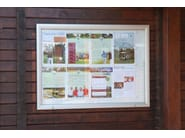 Wall-mounted freestanding notice board Bacheca - STUDIO T