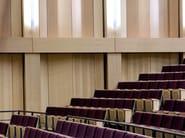 Acoustic indoor laminate wall tiles PRESTIGE D'OBERFLEX | Acoustic wall tiles - Oberflex®
