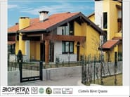 Artificial stone facade element CIOTTOLO RIVER - BIOPIETRA®