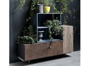 Modular lacquered wooden sideboard 5PUNTO7   Sideboard - Shake