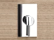 Single handle shower mixer with plate CAFÈ   Shower mixer with plate - Fantini Rubinetti