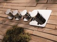 Chrome-plated shower mixer FEELGOOD | 4 hole shower mixer - RUBINETTERIE RITMONIO