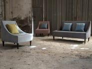 Upholstered fabric armchair SIKKA | Armchair - Domingo Salotti