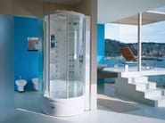 Multifunction steam shower cabin FLEXA TOWER - Jacuzzi Europe