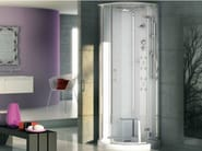 Multifunction semicircular steam shower cabin PLAY SPHERE - Jacuzzi Europe