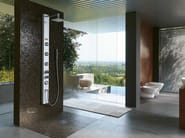 Hydromassage shower panel with overhead shower ES - Jacuzzi Europe