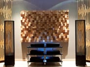 MDF decorative acoustical panels MULTIFUSER WOOD 64 - Vicoustic by Exhibo