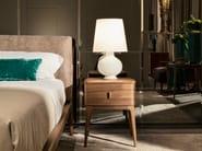 Walnut bedside table INDIGO   Bedside table - SELVA