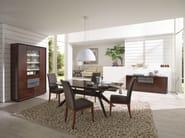 Wooden bar cabinet GRACE | Bar cabinet - SELVA