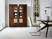 Wooden display cabinet LEONARDO   Display cabinet - SELVA