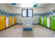 Changing rooms for schools SERIE GK 1-T - GES Group