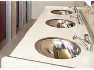 HPL washbasin top SERIE PLTOP AV - GES Group