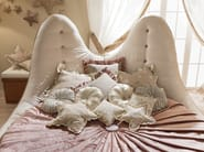 Round bed with tufted headboard 543 | STELLA MARINA - Caroti