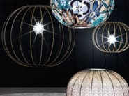 Steel floor lamp BUBBLE GOLD | Floor lamp - MissoniHome