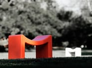 Low polyethylene stool M | Stool - Marzais Créations