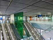 Ceiling with DOGLA-TRIO 1011 - Airport Roissy Charles de Gaulle