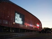 IMAGIC WEAVE Media Facade - Stade Pierre Mauroy, France