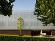 Facade cladding made of architectural wire mesh LARGO-PLENUS 2022 - Car Park Two at Chesapeake, USA