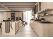 Spruce kitchen with island MAESTRALE 01 - Scandola Mobili