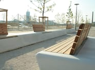Modular GRC Bench ARPA - concrete urban design