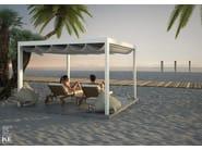 Freestanding aluminium pergola SAKI - KE Outdoor Design