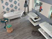White-paste wall tiles EMPREINTE Azur - Impronta Ceramiche by Italgraniti Group
