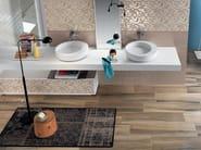 White-paste wall tiles EMPREINTE Ekrù - Impronta Ceramiche by Italgraniti Group