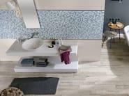 White-paste mosaic EMPREINTE Azur - Impronta Ceramiche by Italgraniti Group
