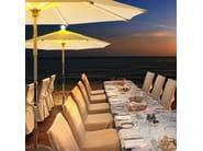 Garden umbrella with built-in lights NI Parasol - FOXCAT Design Limited
