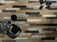 Full-body porcelain stoneware wall/floor tiles with wood effect SCRAPWOOD Light - Italgraniti