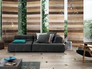 Full-body porcelain stoneware wall/floor tiles with wood effect SCRAPWOOD Sun - Italgraniti
