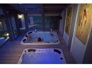 Hot tub for chromotherapy 7-seats BL-832 LUXURY PACK - Beauty Luxury
