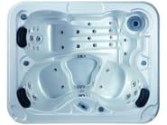 Hydromassage hot tub 3-seats BL-837 STAR PACK - Beauty Luxury