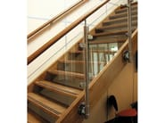 Stair railing NATURAIL & BENDYWOOD - Q-RAILING ITALIA