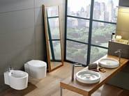 Wall-hung ceramic bidet BUCKET | Wall-hung bidet - Scarabeo Ceramiche