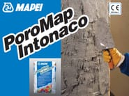 Renovating and de-humidifying additive and plaster POROMAP INTONACO - MAPEI