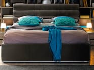 Double bed with upholstered headboard PREMIUM | Bed - GAUTIER FRANCE