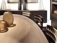 Oval wooden table FALCON - Ph Collection