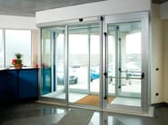 Automated door system A100 COMPACT - FAAC Soc. Unipersonale